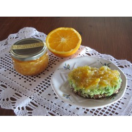 Mermelada de naranja (con piel) SIN AZÚCAR